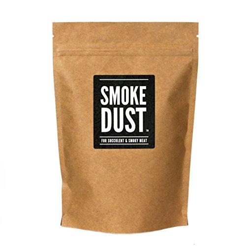 """Smoke Dust – Condimento per tutti gli usi, Barbecue e Marinatura a secco – di """"Nifty Kitchen"""" – Confezione Grande (225 gr)"""