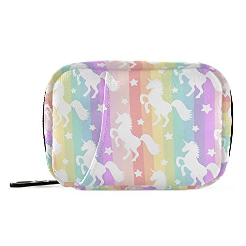 Naanle Star Rainbow - Pastillero para 7 días con diseño de unicornio