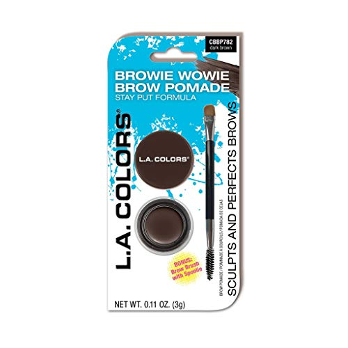 L.A.Colors Browie Wowie Pomade- Dark Brown 30 g