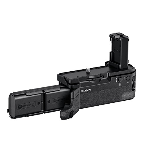 Sony VG-C2EM - Impugnatura verticale per Sony Alpha 7M2, 7RM2 e 7SM2, Doppio slot batteria (Nero)
