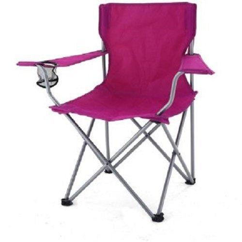 Ozark Trail Camp Chair w/ Carrying Case, Raspberry