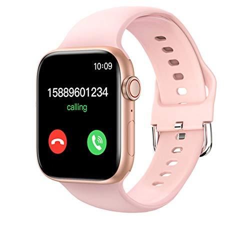 LJMG T800 Smartwatch para hombres y mujeres para IOS Android DIY Dial reloj inteligente 2021 para Android IOS 1.72 pulgadas Bluetooth Call,F