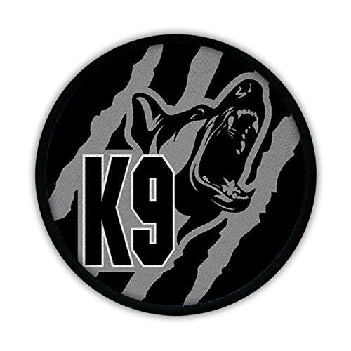 Copytec K9 schwarz grau Hundestaffel Polizei Schäferhund DSH Tarn Uniform Klett #16885