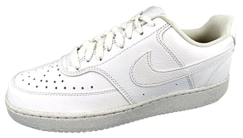 Nike Court Vision Lo Be, Scarpe da Passeggio Uomo, White/White-White, 42 EU