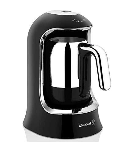 Korkmaz A860-07 Coffee Maker | Black Chrom | Kahvekolik | Mokkakocher | Espresso