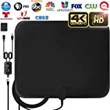 [Latest 2019] Amplified HD Digital TV Antenna Long 120 Miles Range - Support 4K...