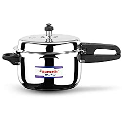Butterfly Blue Line Stainless Steel Pressure Cooker