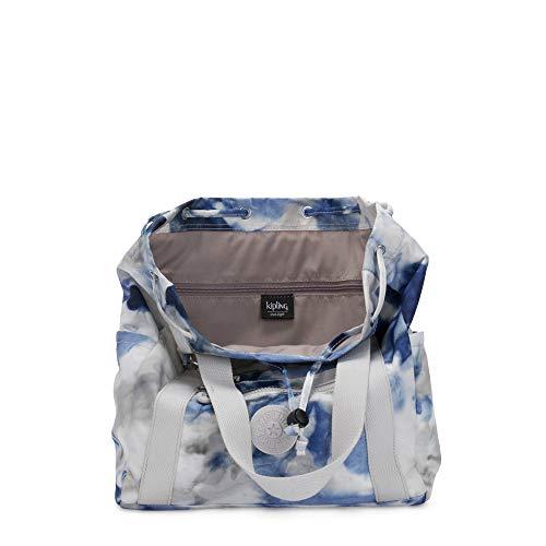 Kipling Women's Art Small Tote Backpack, Tie Dye Blue, One Size