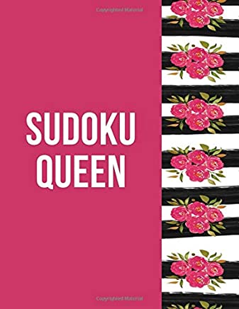 Sudoku Queen: Easy Sudoku For A Brainy Day: 200 Easy Stimulating Sudoku Puzzles And Solutions For Hours of Fun. Makes a Great Gift For Brainy ... 200 Full Filled Sudoku Games For Beginners.