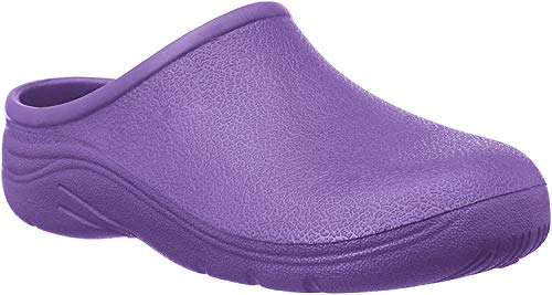 Briers Mens & Womens Garden Clogs Size 4-11, Purple 7