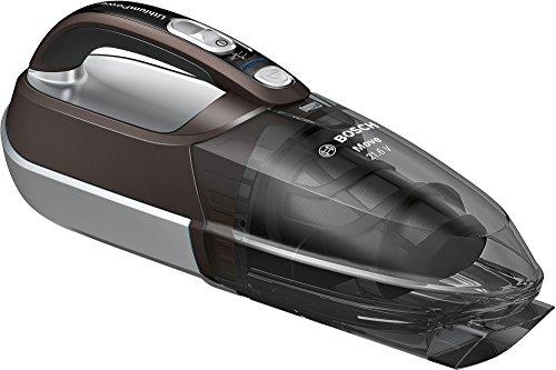 Bosch Handstaubsauger Move Lithium 21.6V BHN2140L, Akku-Staubsauger, ideal für Polster und Auto, beutellos, kabellos, leicht, hohe Saugkraft, lange Laufzeit, Lithium-Ionen-Akku, braun