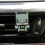 NLJYSH Uso Multiplo Car Deodorante Fumetto Deodorante Car Styling Profumo The Avengers Stile Marvel for l'aria condizionata Vent Uscita Superman Batman Freddo di Modo Indossare (Color Name : Batman)