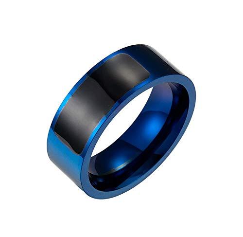 Sxmy Anillo inteligente NFC de acero de titanio y joyería portátil inteligente