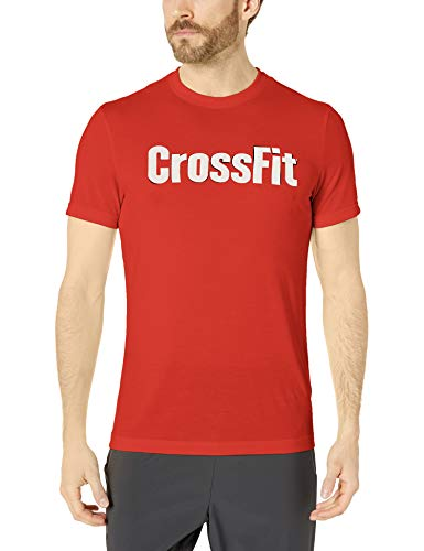 Reebok Men's Crossfit Speedwick F.E.F., Forging Elite Fitness', Graphic Short Sleeve T-Shirt