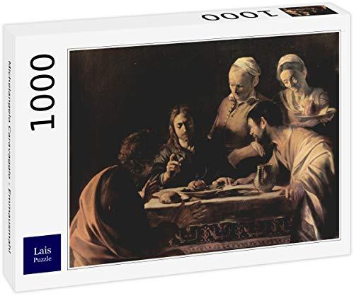 Lais Puzzle Michelangelo Caravaggio - Emmausmahl 1000 Pezzi