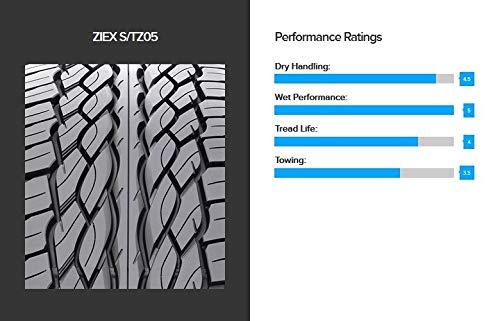 Falken Ziex S/TZ05 Radial Tire - 255/50R20 109H