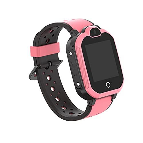 Reloj inteligente para niños 4G, resistente al agua, compatible con videollamadas con GPS Tracker, con pantalla táctil HD,reloj de pulsera WiFi,regalo de cumpleaños para estudiantes