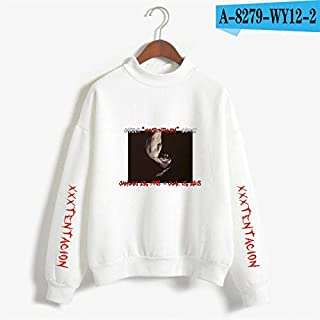 HITSAN INCORPORATION Autumn Fashion T Shirt Revenge Clothing T-Shirt Xxxtentacion Women Casual Long Sleeve T Shirt Top tee Shirt Clothing Color A8279-2 Size XL