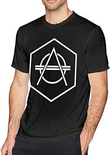 SASJOD Herren Kurzarmhemd Don Diablo Men's Comfort Short Sleeve T-Shirt Black