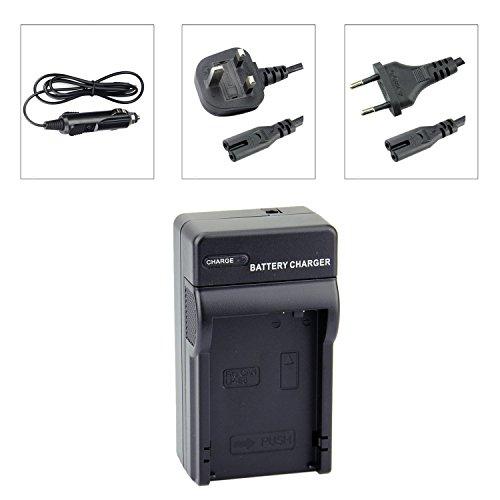 DSTE LP-E8 Baterías Cargadores Compatible con Canon EOS 550D 600D 650D 700D...
