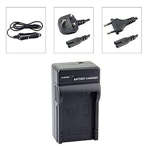 DSTE LP-E8 Baterías Cargadores Compatible con Canon EOS 550D 600D 650D 700D Kiss X4 X5 X6i X7i Rebel T2i T3i T4i T5i Camera as LC-E8C