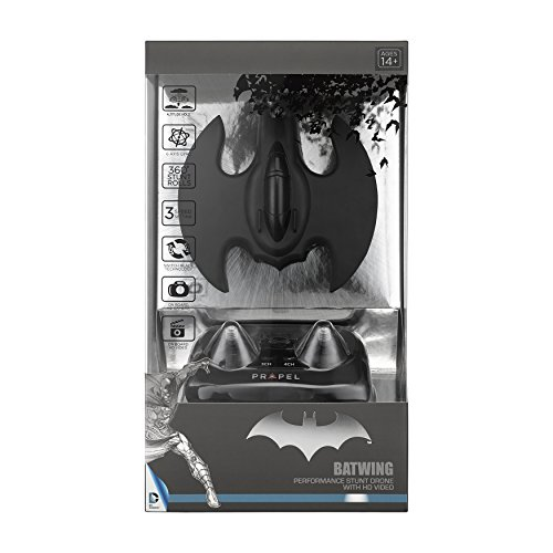 Propel IDPBWHD Batman Batwing Quadcopter mit HD Video-Kamera