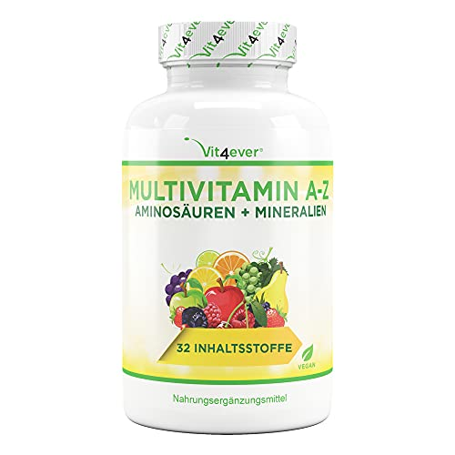 Multivitamine A-Z - 365 comprimés (12 mois) - 32...