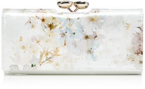 Ted Baker Damen Jaidaa Reisezubehr-Bi-Fold-Brieftasche, elfenbeinfarben, Einheitsgröße