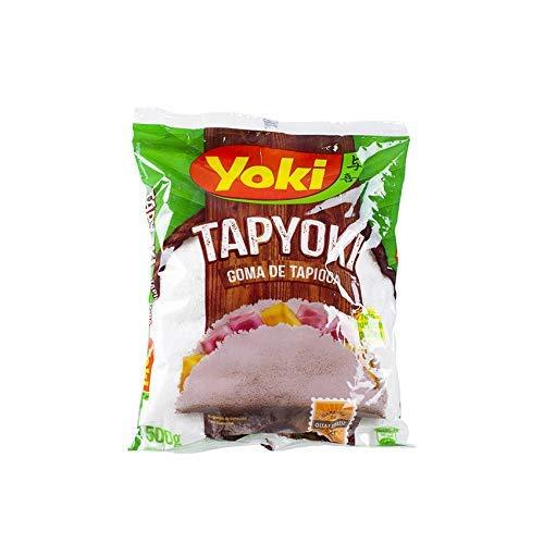 Harina de Tapioca Hidratada 500g - Tapyoki - Goma de Tapioca YOKI 500g