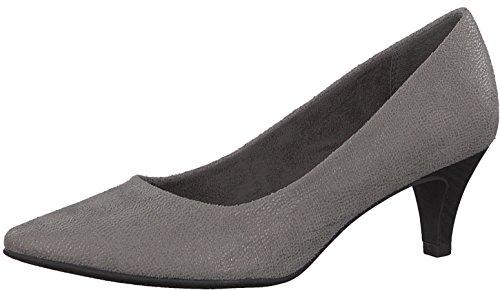 Tamaris Damenschuhe 1-1-22415-29 Damen Pumps, Herbstschuhe für modebewusste Frau grau (Graphite STRU.), EU 39
