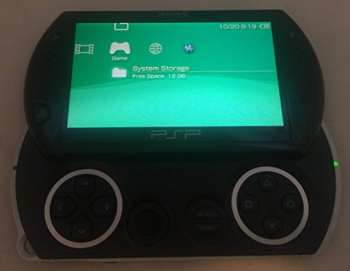 Sony PSP Go Handheld Gaming System - Black