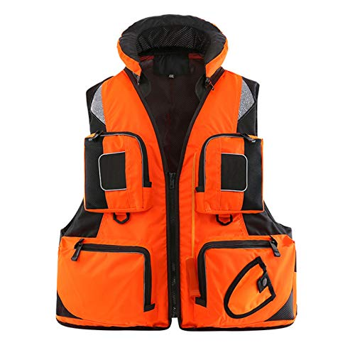 Fishing Vest with Multiple Pockets,...