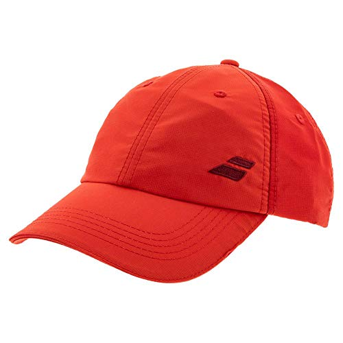 Babolat Basic Logo Cap Gorra, Unisex Adulto, Tomato Red, Talla Única
