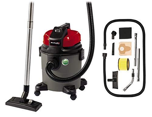 Einhell Nass-Trockensauger TE-VC 1820 (ECO-Technologie, 750 W, 20 L, Blasanschluss, Fehlluftregler, Zubehörhalterung, inkl. Kombidüse, Fugendüse, Plastikschlauch 2,5 m, 2tlg. Rohr)