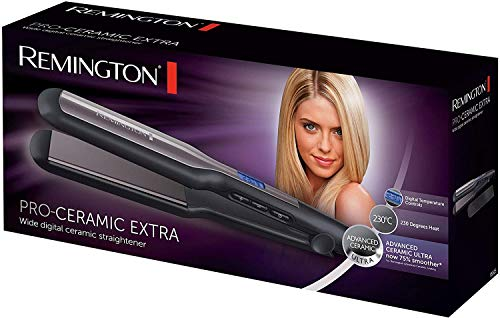 Remington Fer à Lisser, Lisseur , Plaques Flottantes XL, Température Variable, Lissage Facile,...