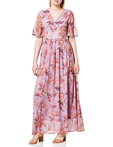 Vero Moda Damen Kleid, Mehrfarbig