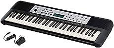 Yamaha YPT270 61-Key Portable Keyboard With Power Adapter (Amazon-Exclusive)