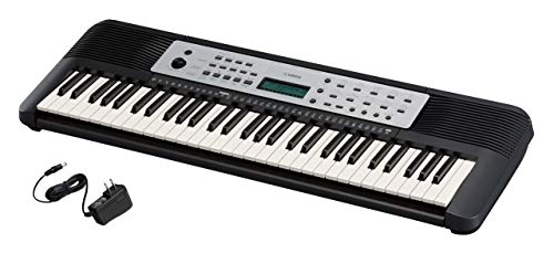 Yamaha YPT270 61-Key Portable Keyboard With Power Adapter (Amazon-Exclusive)