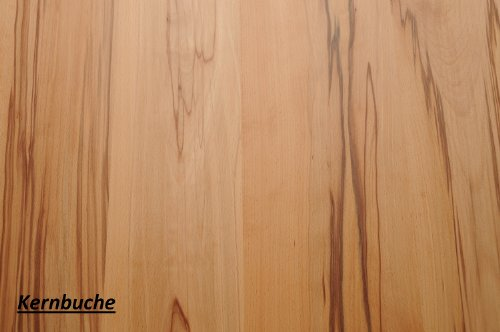Wandbord Wandboard Design Livingboard Regal massiv Holz - Verschiedene Holzarten wählbar - Tiefe:13cm Dicke:25mm (Kernbuche, 30cm)