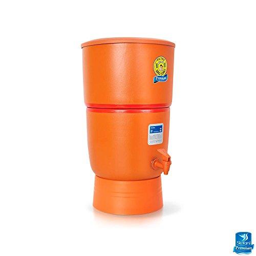 Filtro de Água de Barro Purificador São João com 3 Velas - 8 Litros Premium Filtro de Água de Barro Purificador São João com 3 Velas 8 Litros Premium