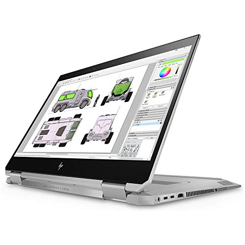 HP Zbook Studio x360 (Workstation) I7 8750H tela 15' UHD Quadro P1000 SSD 2Tb NVMe RAM 32Gb