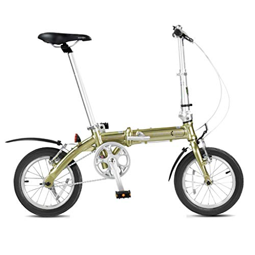 Fantastic Deal! Folding Bikes Bicycle Folding Bicycle Unisex Mini Adult Bicycle Portable Small Wheel...
