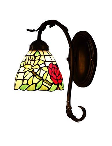 DALUXE Lámpara de Pared de mesita de Noche, lámpara Decorativa Retra idílica, luz de Fondo de Espejo de Color cálido, luz de Engranaje de Corredor de Arte