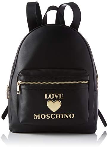 Love Moschino s21, Damen-Rucksack, Größe M, Schwarz - Schwarz - Größe: Medium