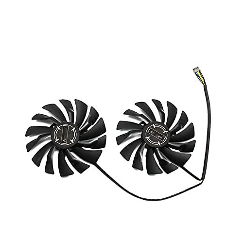 2pcs / Lote 95mm PLD10010S12HH Reemplazo del Ventilador del Refrigerador para MSI Radeon R9 380 Armadura 2X GTX 1060 970 RX580 Gráficos De La Tarjeta De Video