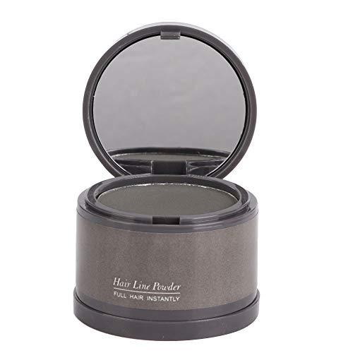 Poudre de cheveux mince et moelleuse, ligne de maquillage pour cheveux fins, correcteur d'ombre, couverture instantanée de couverture, poil de racine, garniture de cheveux fins(gris)