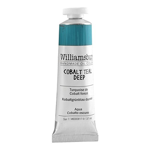 Williamsburg Oil 37Ml Cobalt Teal Bluish