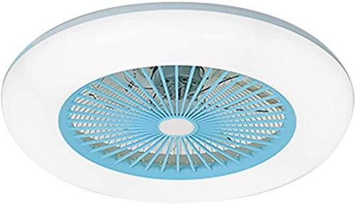 Deckenventilator Beleuchtung Lichtdeckenleuchte LED Einstellbare Windgeschwindigkeit Einstellbare ohne Batterie Fernbedienung 36W Moderne LED-Deckenleuchte for Schlafzimmer Wohnzimmer Esszimmer,