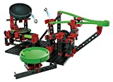 fischertechnik 544618 Dynamic XM Kugelbahn mit Katapult und verstellbarem Trampolin - 3 actionreiche Modelle - für Kinder ab 8 Jahren -