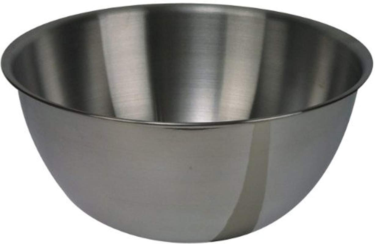 Browne 575912 12 Qt Deep Stainless Steel Mixing Bowl